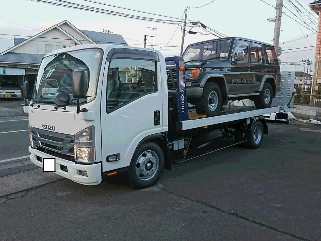 プラド専門店☆積載車両が納車♪
