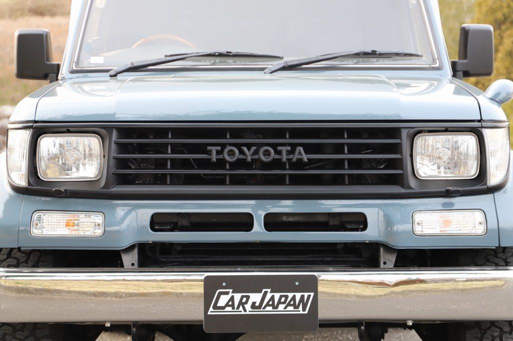 「胸キュン」プラド♪買戻しからの再販車両!程度良好なアンヴィルグレーの78です!