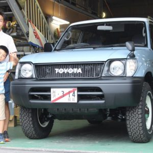 「95PRADO narrow package ご納車!!」