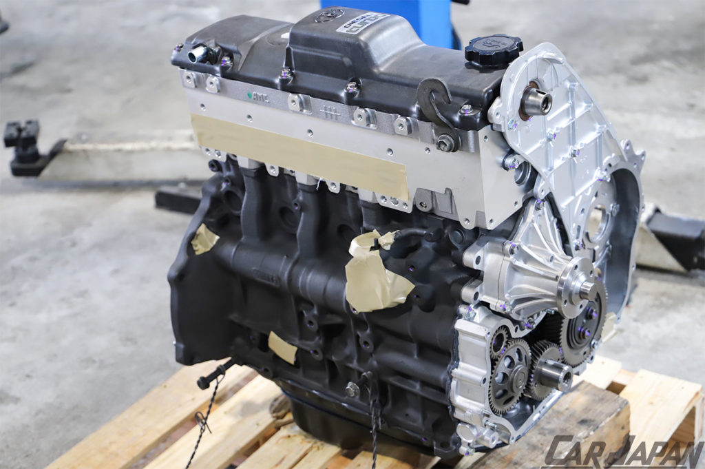 78プラド 1KZ-TE 再生へのアプローチ 1KZ-TE Fine Specリビルトベアエンジン