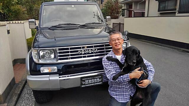 78プラドカスタム中古車神奈川県上原様01