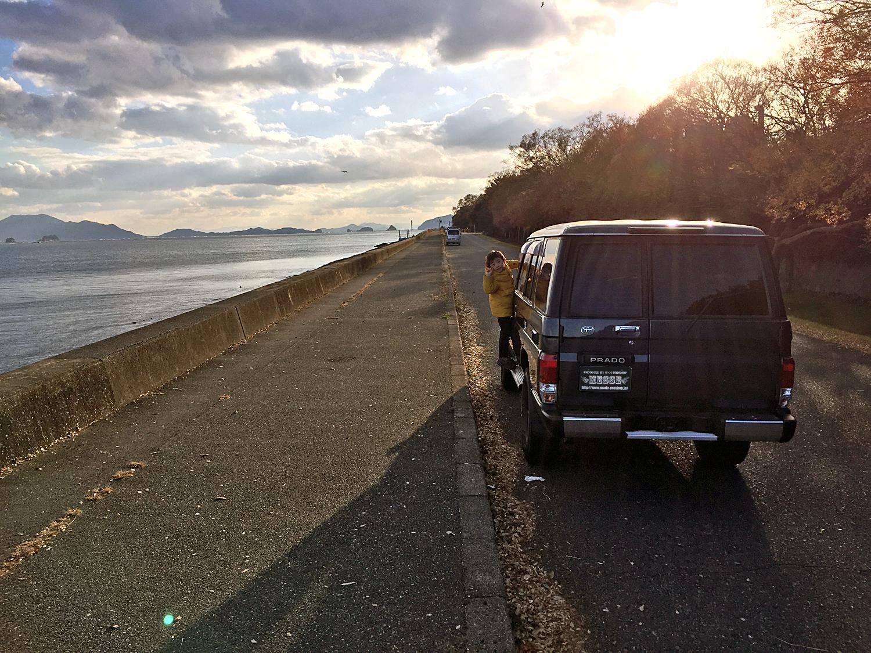 78プラドカスタム中古車広島県的川様01