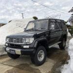 ランドクルーザー78プラドブラックカスタム中古車01