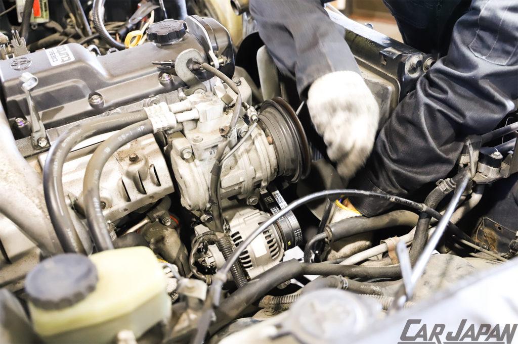 78プラド 1KZ-TE 再生へのアプローチ  Fine Specリビルトベアエンジン