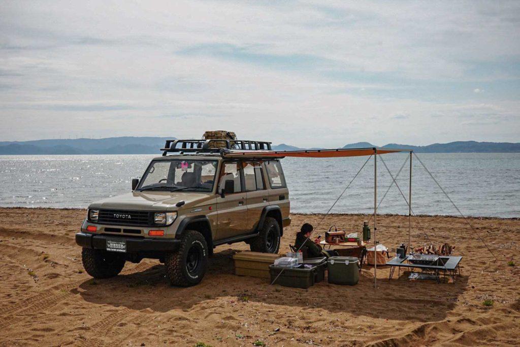 ランドクルーザー78プラドキャンプ