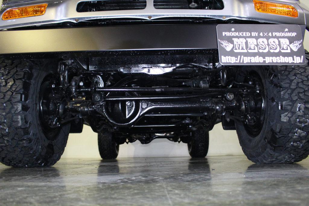 ディーゼル規制対策車ランドクルーザー78プラドカスタム9