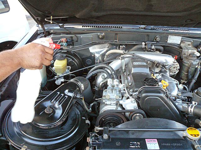 78プラドエンジンデグレザー高圧洗浄コンディショナー01