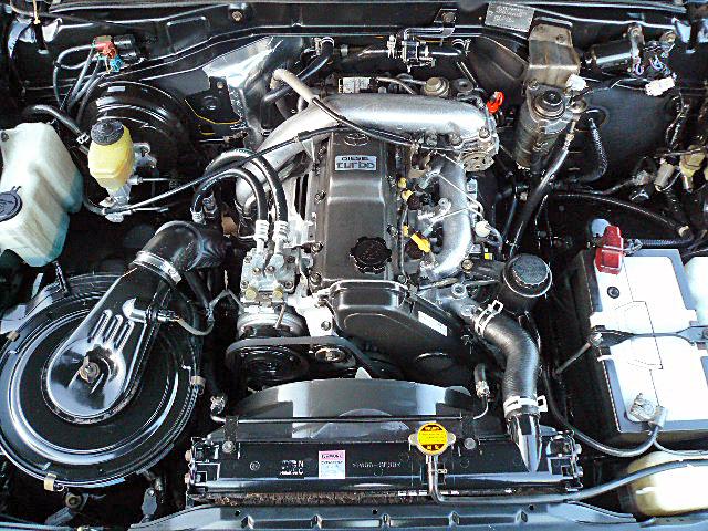 78プラドエンジンデグレザー高圧洗浄完成01