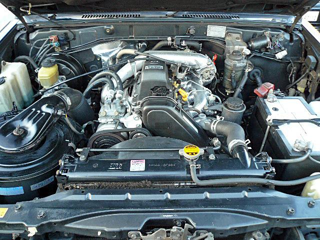 78プラドエンジンデグレザー高圧洗浄乾燥01
