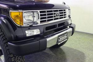 78プラドカスタム中古車「家族全員一台の車で、山登り、キャンプ、旅行に行けること、最高です」09