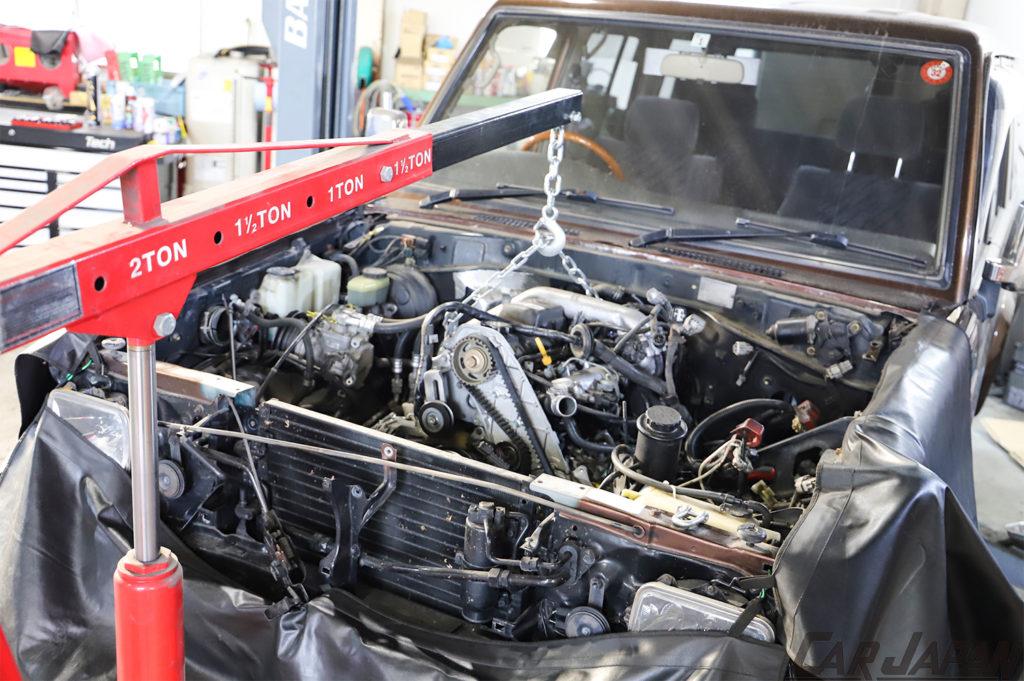 78プラド 1KZ-TE 再生へのアプローチ 1KZ-TE 再生へのアプローチ Fine Specリビルトベアエンジン