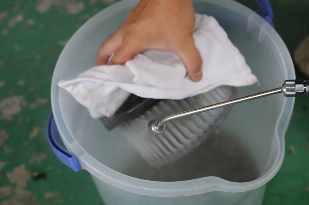 カーエアコンクリーニング エバポレーターダイレクト洗浄