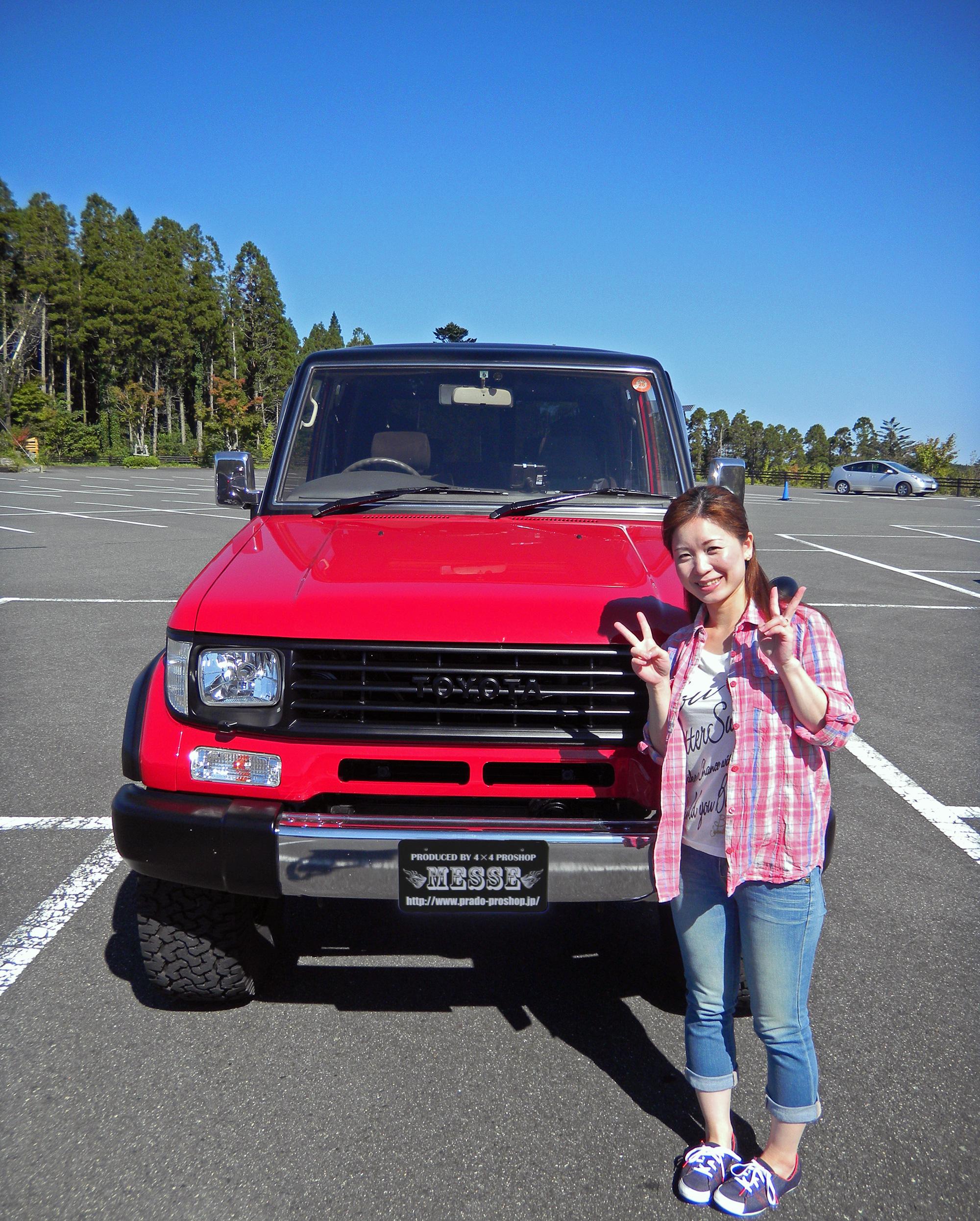 78プラドカスタム中古車長崎県秋吉さん01