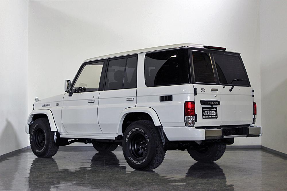 78プラド中古車ホワイト、マッドブラック沖縄県平田様09