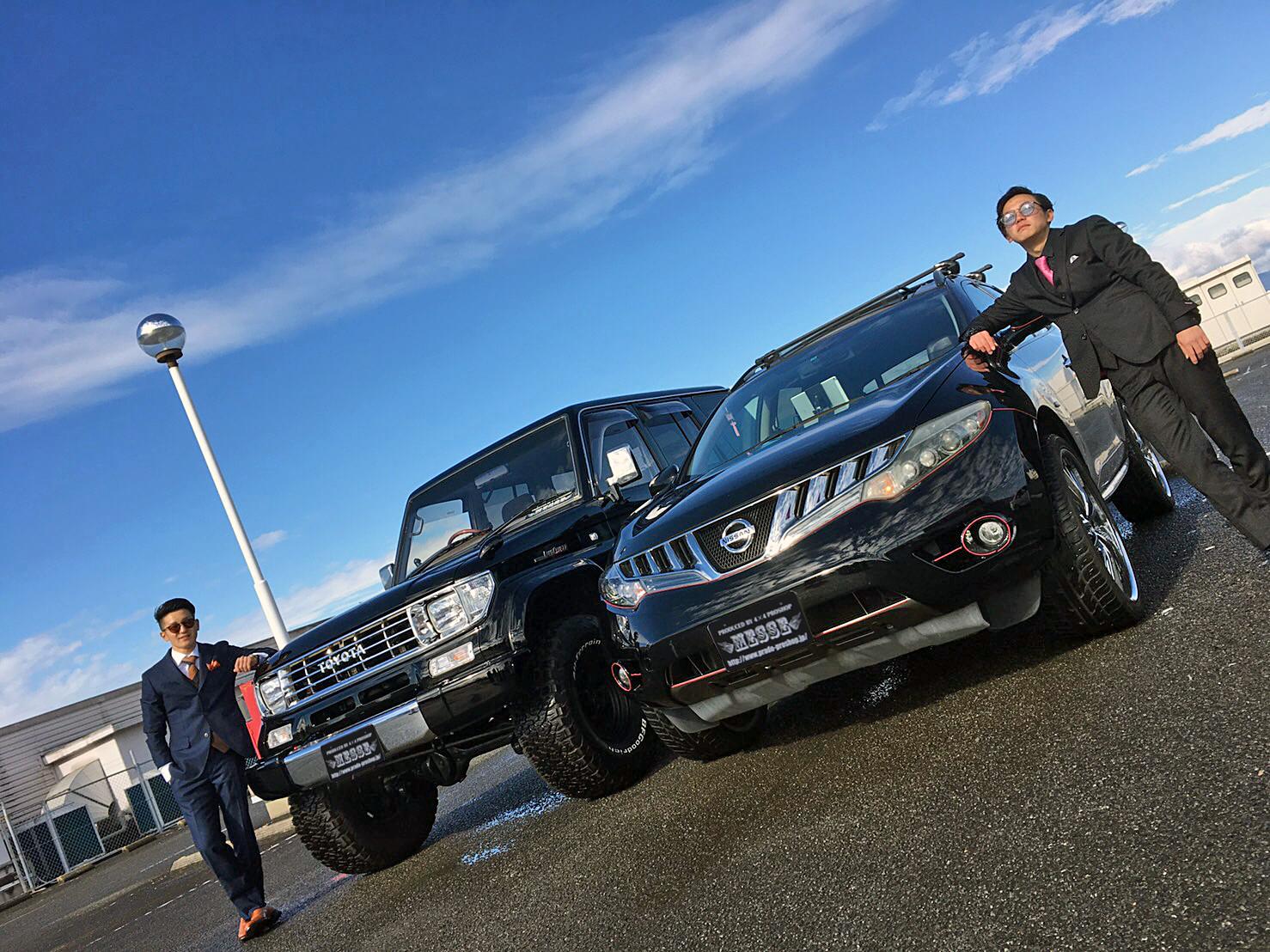 78プラドカスタム中古車長崎県松林さん02