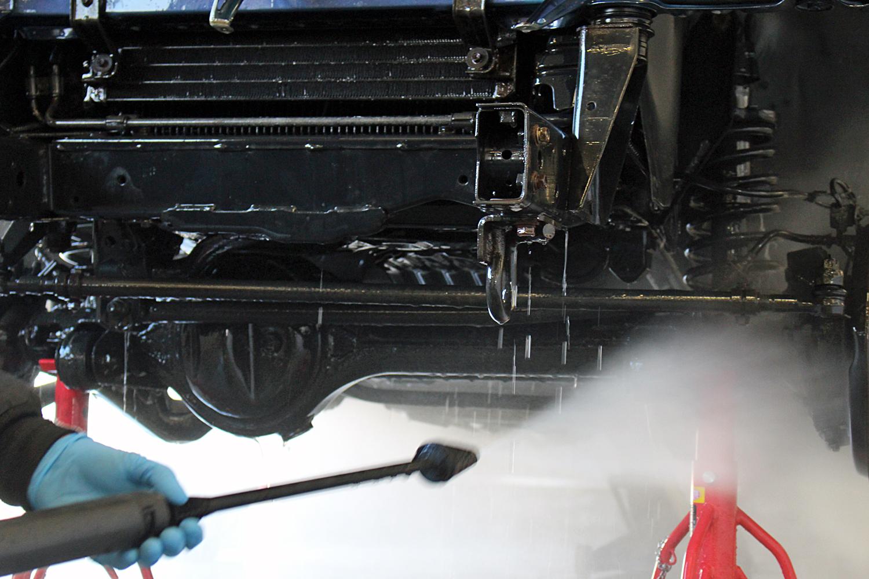 78プラド中古車足回り洗浄8
