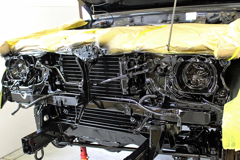 78プラド中古車足回りシャシーブラック9