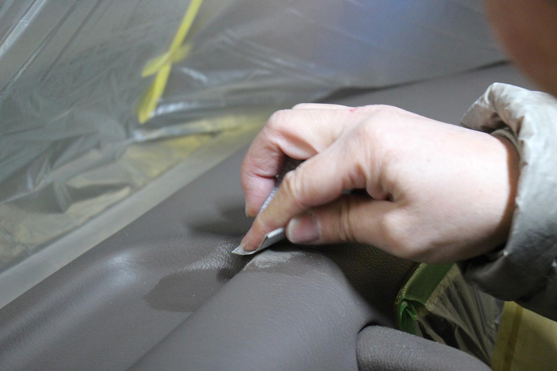 78プラド中古車内装パネルりリペア08