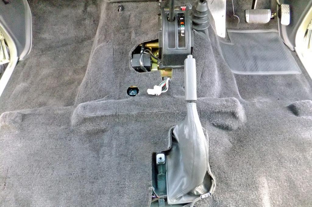 78プラド車内クリーニング13